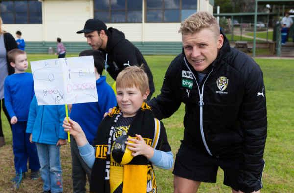 AFL Richmond visit